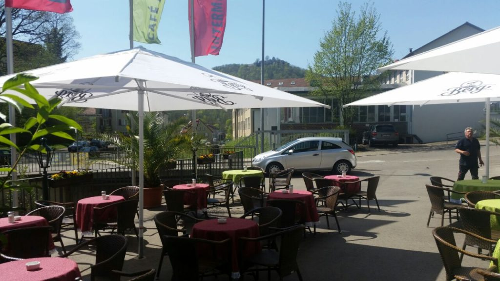 Café am Bach in Bad Urach Intermezzo Terasse